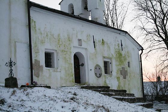 Церковь Николы с городища, 2015, после реставрации