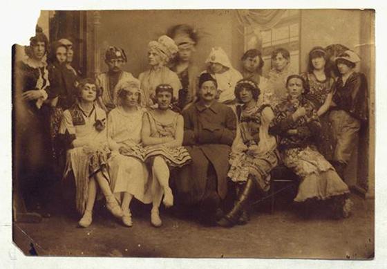 A Queer World in Konstantin Somov's Artworks. Gay masquerade in St. Petersburg, January 19, 1921.