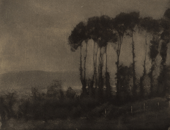 Robert Demachy, Toucques Valley, 1906