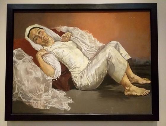 Паула Регу. Невеста. 1994. Бумага, пастель. 120х160,6см