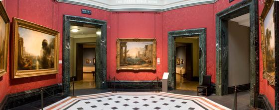 Зал № 15 с работами Уильяма Тернера и Клода Лоррена                                                                                                     © nationalgallery.org.uk