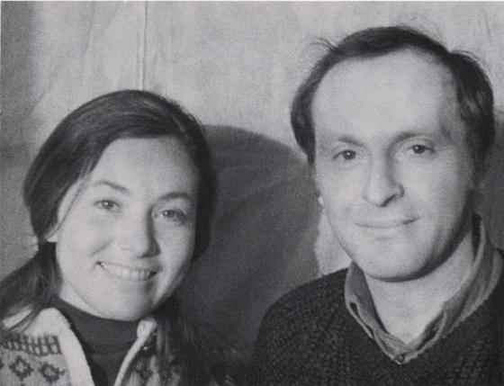 Иосиф Бродский и Кэрол Аншютц. 1972