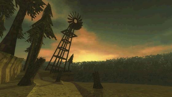 Скриншот из компьютерной игры Paratopic, выпущенной в 2018 году. Движок — Unity