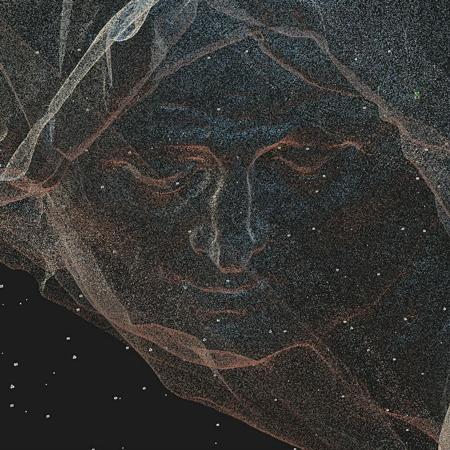 Облако точек трехмерной модели скульптуры «Св. Анна». Алтарь церкви Успения Марии в Монастыриске. И.Г. Пинзель. 1761. Фотограмметрия для проекта Pinsel.AR