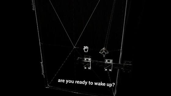 При приближении к опасным и страшным объектам можно увидеть их wireframe-анатомию и проснуться из-за попытки с ними взаимодействовать