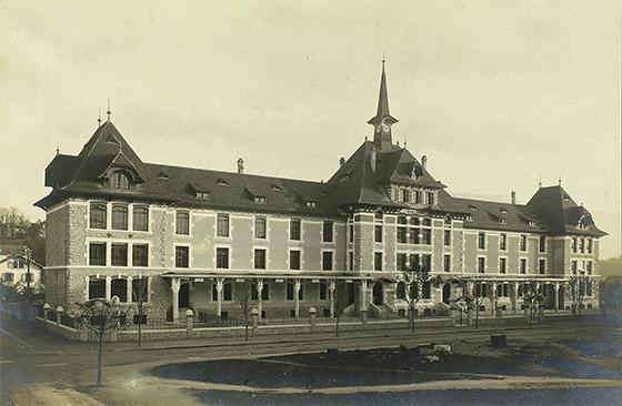 École de la Roseraie. Женева, 1907 © Bibliothèque de Genève