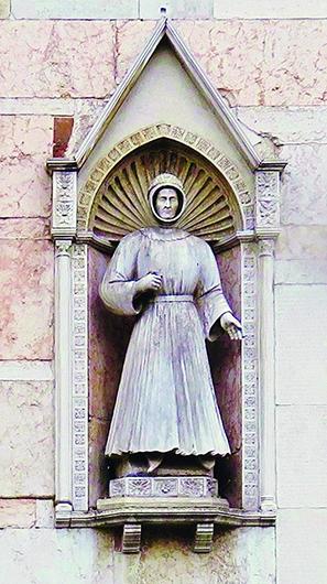 Альберто V д'Эсте. 1390-е. Мрамор