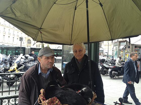 В Париже с шарманщиком
