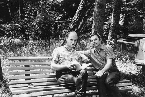 С Николаем Добронравовым в Рузе