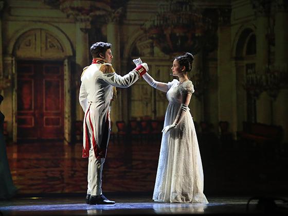 Сцена из оперы «Le prince André. Князь Андрей Болконский»                                           © Андрей Степанов