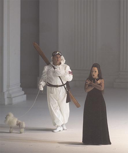 Дон Оттавио — Майкл Спайрз, Донна Анна — Надежда Павлова © Ruth Walz / Salzburger Festspiele