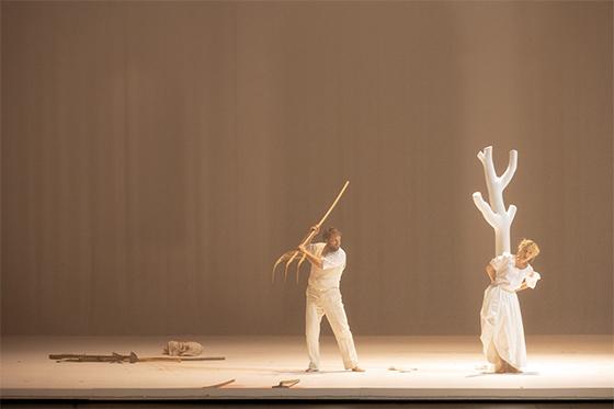 Мазетто — Давид Штеффенс, Церлина — Анна Лючия Рихтер © Monika Rittershaus / Salzburger Festspiele