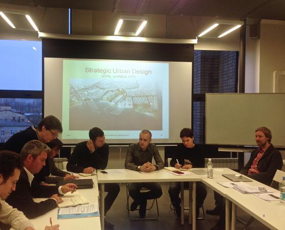 Заседание по планированию города