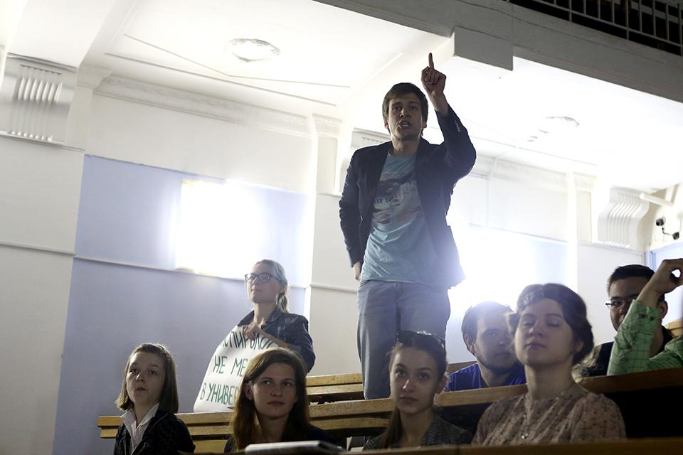 Лекция о сексе для студентов