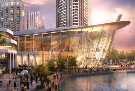31августа открывается Дубайская опера