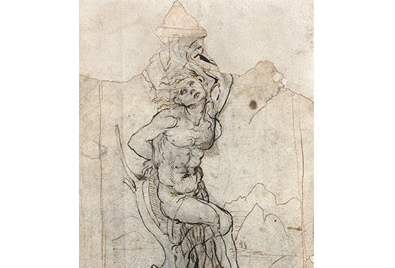 Во Франции найден неизвестный рисунок Леонардо да Винчи