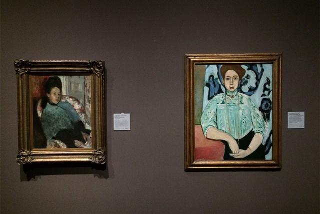 Анри Матисс. Портрет Греты Молл. 1908. Холст, масло                                                                                            © Национальная галерея, Лондон