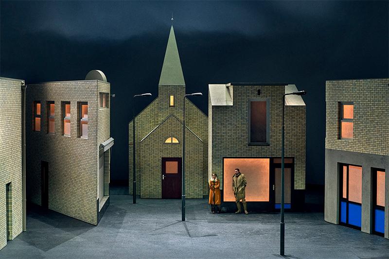 Сцена из спектакля «Летучий голландец» © Enrico Nawrath / Bayreuther Festspiele